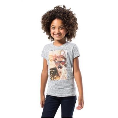 Camiseta Bebê Alce Reserva Mini Feminina-Feminino