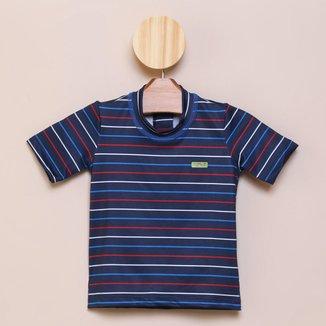 Camiseta Bebê Boca Grande Proteção UV 50+ Masculina