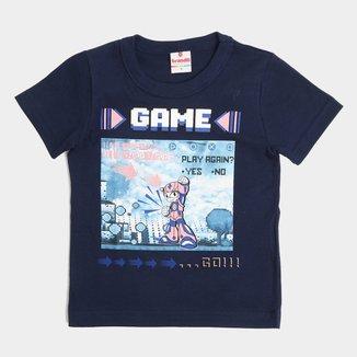 Camiseta Bebê Brandili Gamer Masculina
