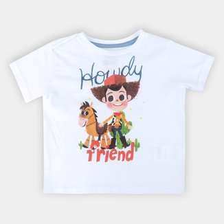 Camiseta Bebê Disney Woody And Friends - Toy Story Masculina