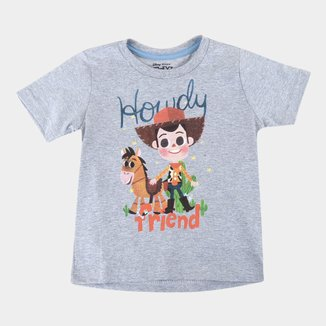 Camiseta Bebê Disney Woody And Friends - Toy Story Masculina