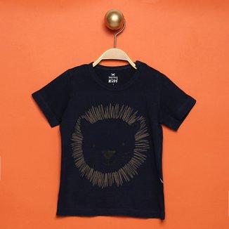 Camiseta Bebê Hering Kids Ursinho Masculina