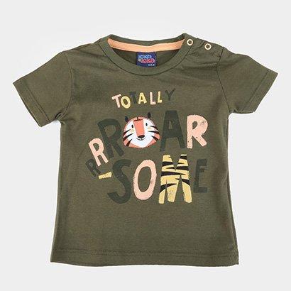 Camiseta Bebê Kiko & Kika Roar Masculina