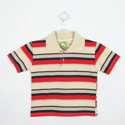 Camiseta Bebê Masculina Manga Curta Azul Royal, Amarela e Branca-P