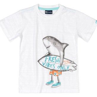 Camiseta Bebê Quimby Frash Vibes Only Masculina