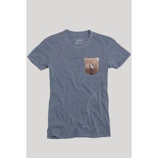 Camiseta Bolso Xadrez Quadrilha Reserva Masculina