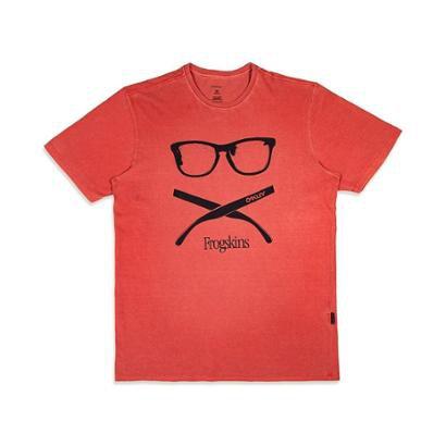 Camiseta Bone Crossed Tee Oakley