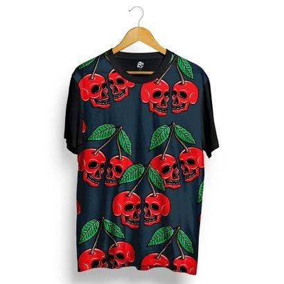 Camiseta BSC Cherry Skull Full Print