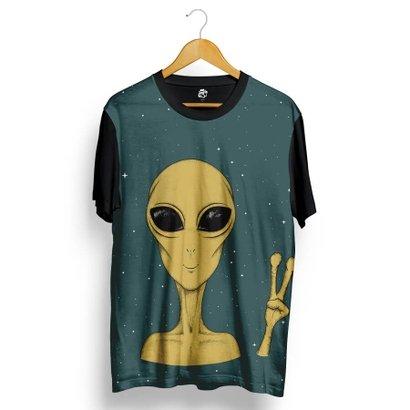 Camiseta BSC Happy Alien Full Print