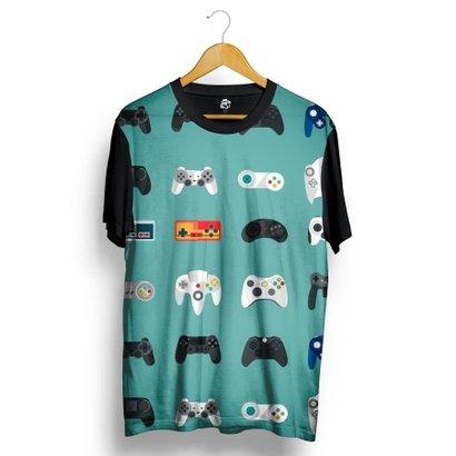 Camiseta BSC Joystick Full Print