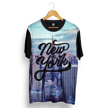 Camiseta BSC New York Buildings Full Print