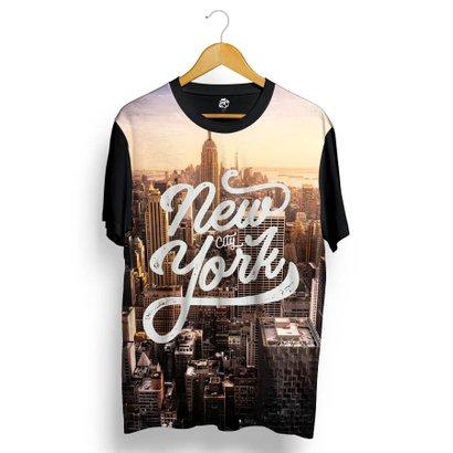 Camiseta BSC New York Sunset Full Print