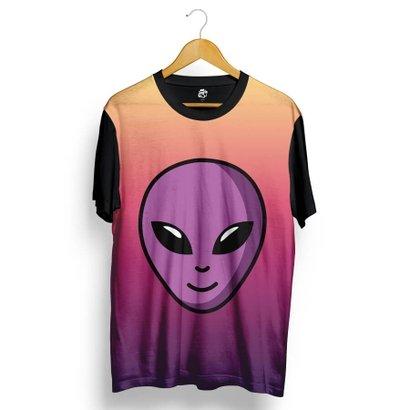 Camiseta BSC Purple Alien Full Print