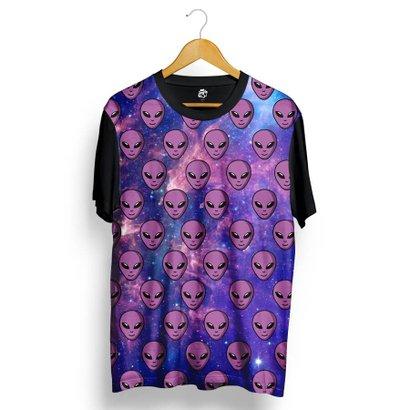 Camiseta BSC Purple Alien Galaxy Full Print