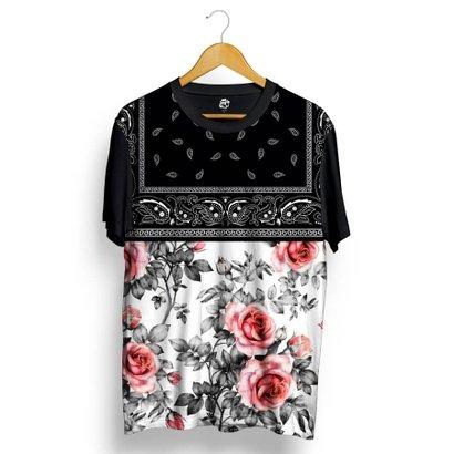 Camiseta BSC Rose Bandana Full Print