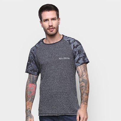 Camiseta Bulldog Fish Raglan Masculina