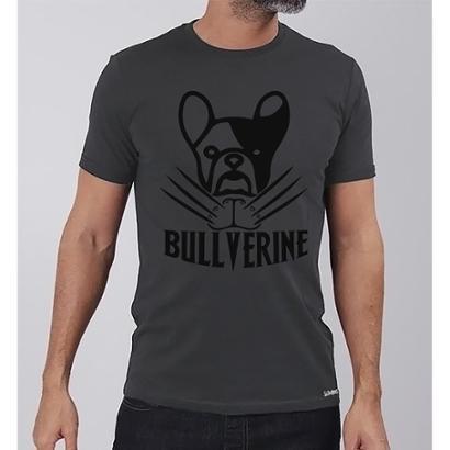 Camiseta Bullverine Frenchie Buddies Masculina - Zattini BR