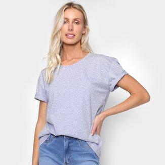 Camiseta Burn Básica Feminina