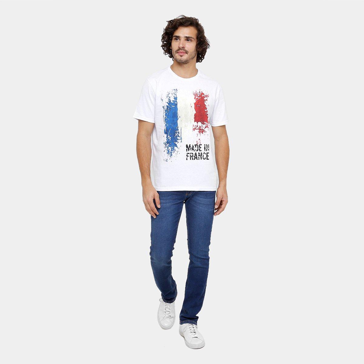 e2c7ba7f40cfc Camiseta Burn França Masculina - Compre Agora   Zattini