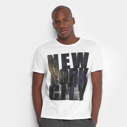Camiseta Burn NY City Masculina