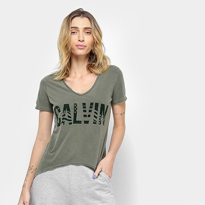 Camiseta Calvin Klein American Feminina