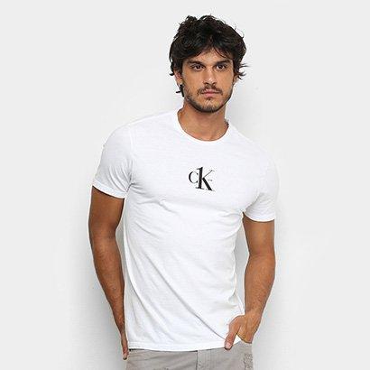 Camiseta Calvin Klein Básica Estampa One Masculina