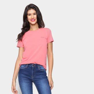 Camiseta Calvin Klein Básica Feminina