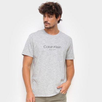 Camiseta Calvin Klein Básica New York Masculina