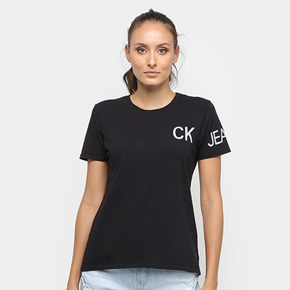 Camiseta Calvin Klein CKJ Feminina