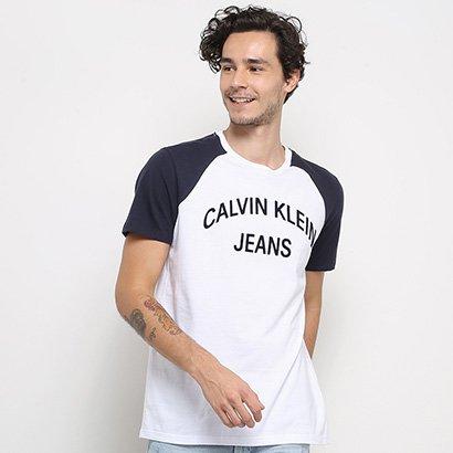 Camiseta Calvin Klein Estampada Masculina