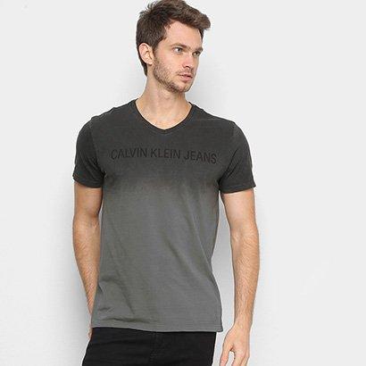 Camiseta Calvin Klein Estonada Masculina