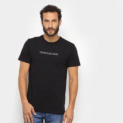 Camiseta Calvin Klein Jeans Logo Masculina