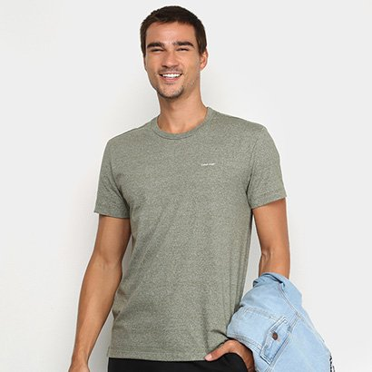 Camiseta Calvin Klein Mescla Masculina
