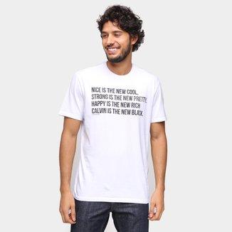 Camiseta Calvin Klein New Cool Masculina