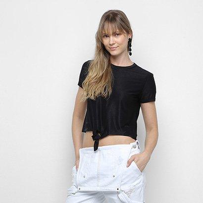 Camiseta Calvin Klein Nó Feminina