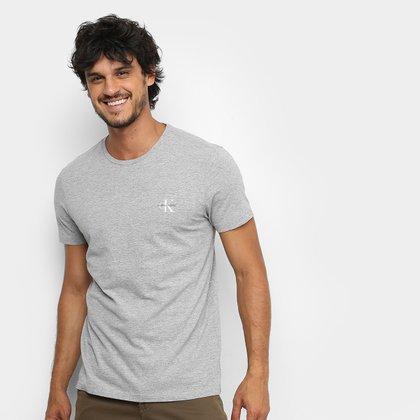 Camiseta Calvin Klein Re Issue Peito Masculina