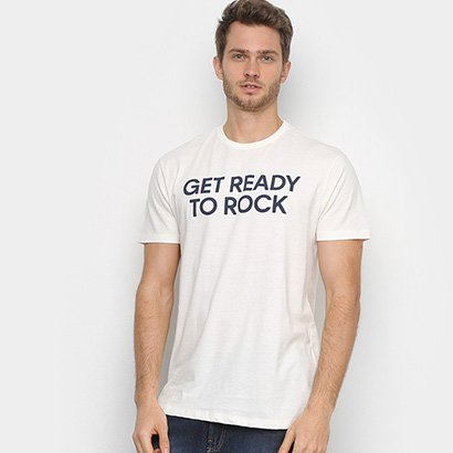 Camiseta Calvin Klein Rock Masculina