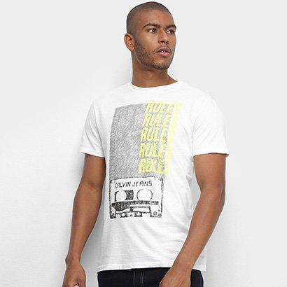 Camiseta Calvin Klein Rules Masculina