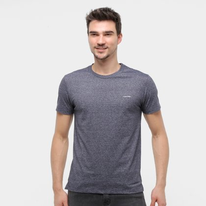 Camiseta Calvin Klein Slim Básica Mouline