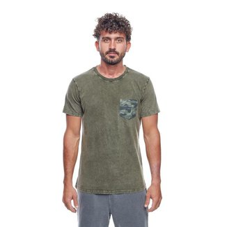 Camiseta  Camo Pocket Special Mormaii Masculina
