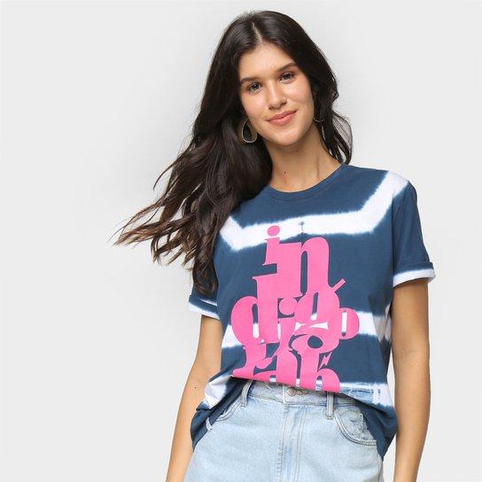 Camiseta Cantão Clássic Indigolab Feminina - Azul