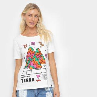 Camiseta Cantão Classic Terra Feminina