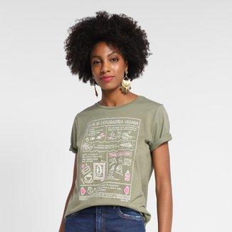 Camiseta Cantão Exploradora Urbana Feminina