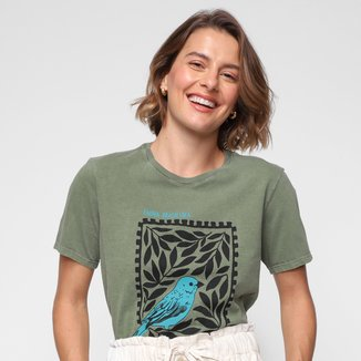 Camiseta Cantão Fauna Brasileira Feminina
