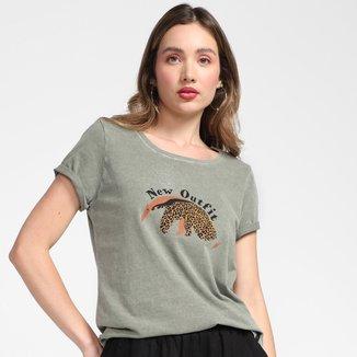 Camiseta Cantão New Outfit Feminina