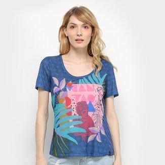 Camiseta Cantão Pop Art Feminina