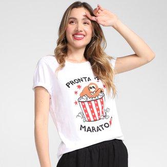 Camiseta Cantão Pronta Pra Maratona Feminina
