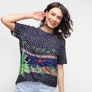 Camiseta Cantão Ribeirinha Feminina