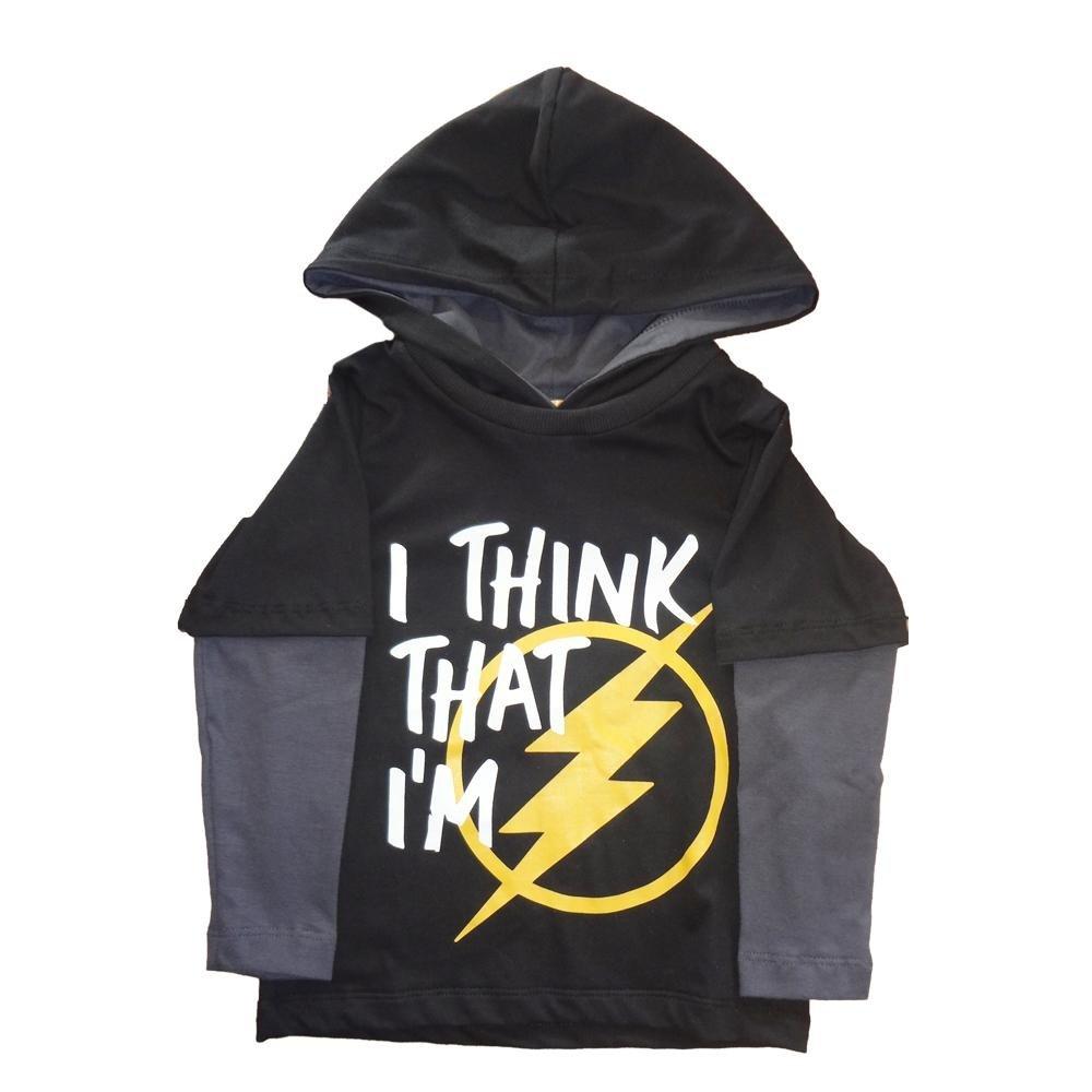 563b8081a Camiseta Capuz Infantil Comfy Flash Masculino - Compre Agora