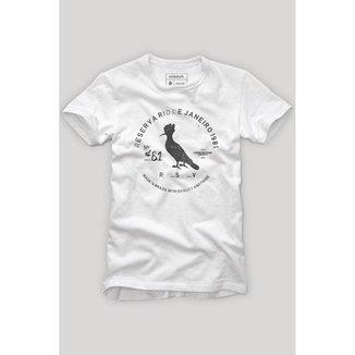 Camiseta Carimbo Gaze Reserva Masculina